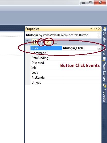 ASP.Net Button Control Example