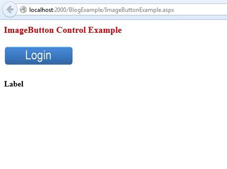 ASP.Net ImageButton Control