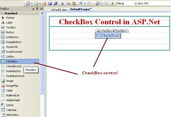 ASP.Net CheckBox Control