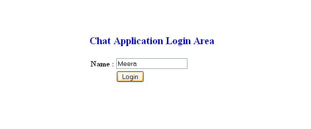 Create chat appication in ASP.NET with C#