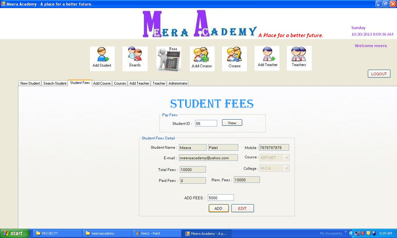 student management systems, student information systems
