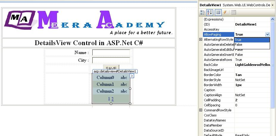 How to do paging in asp.net c#