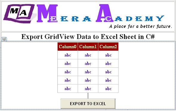 export access data to excel template - how to get data from excel sheet using c update existing