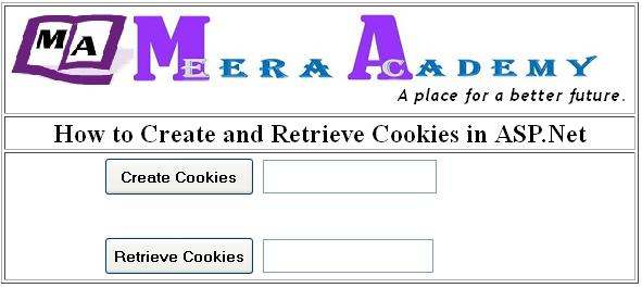 How to Create Cookies in ASP.Net with C#