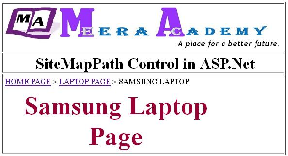 How to use SiteMapPath Control in ASP.Net?