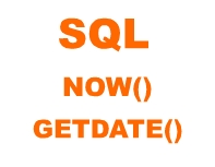 sql now() and getdate()