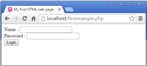 PHP with HTML forms