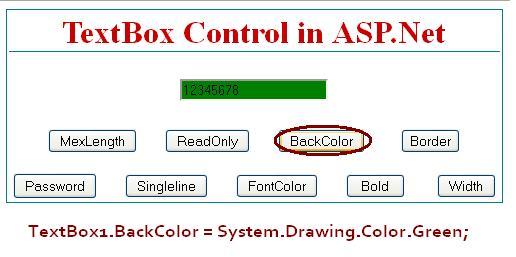 Textbox BackColor - ASP.Net