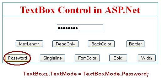 TextBox Password Mode - ASP.Net