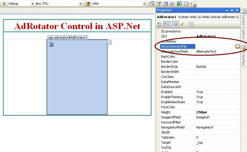 Richcontrol in asp. Net.