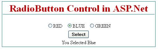 How to use RadioButton control in asp.net c#.