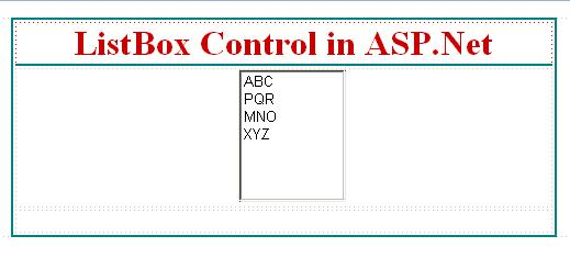 How to add new items in listbox control in asp.net.