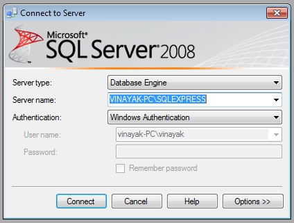 sql server management studio 2008