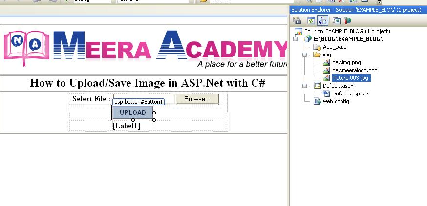 FileUpload contorl in ASP.Net with C#