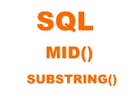 sql mid and substring