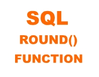 sql round() function