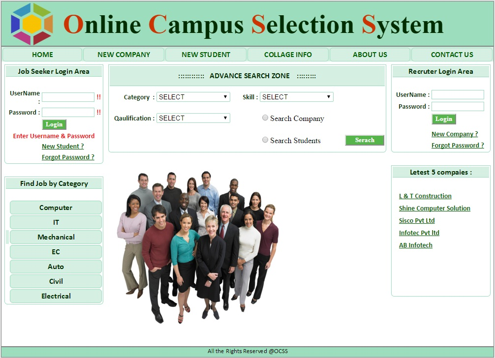 Campus Selection System