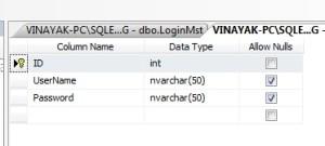 create login form in asp.net using database