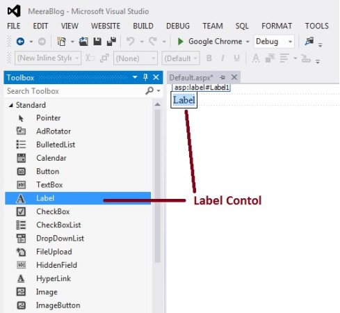 Label Control in ASP.Net